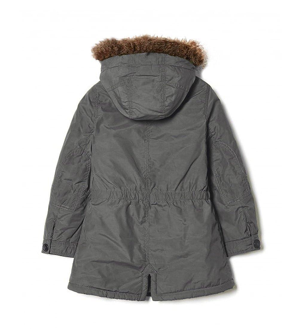 2fb9d5de6 Niña Abrigo Unido Colores de Benetton Muy Cálido Fury Abrigo Forrado Edad  1Ya 1: Amazon.es: Ropa y accesorios