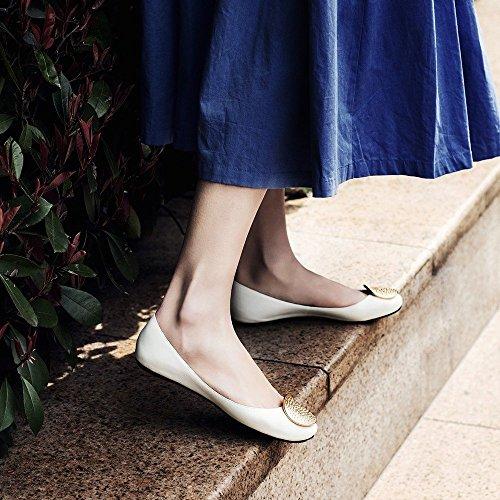 Plates Bouche NSX avec Printemps Ballet Peu de Plates Chaussures Et des Été Profonde UNE Chaussures Chaussures xqSxnwg61r