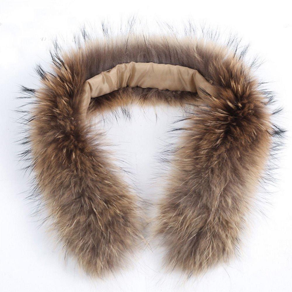 ELEAR® Genuine collo di pelliccia Donne Donne spessa pelliccia del procione sciarpa / scialle / involucro del collo per il cappotto