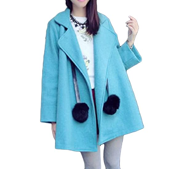 Coat with Dolman Sleeves