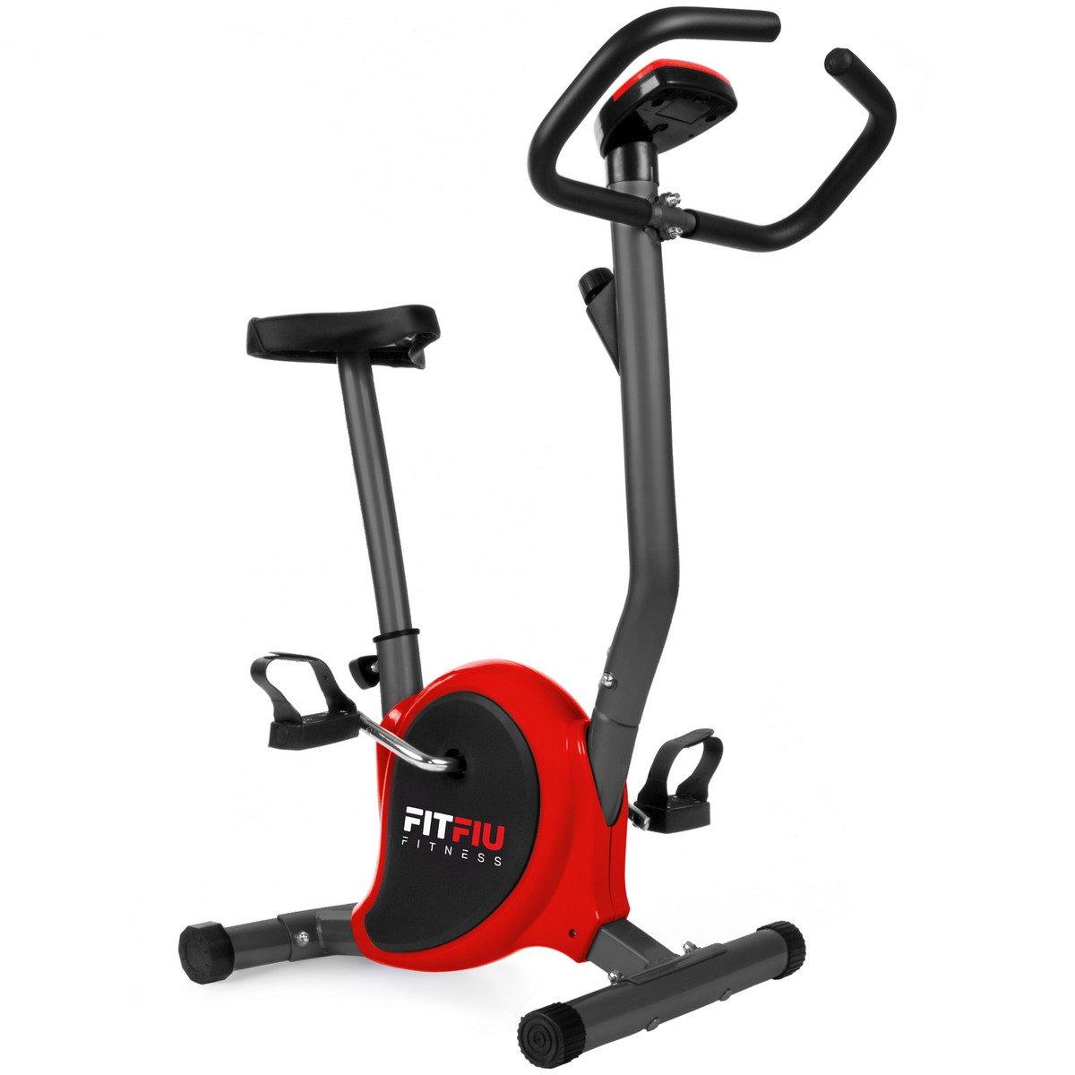 Fitfiu BEST-100 ROJA Bicicleta Estática Plegable, Rojo, S: Amazon.es: Deportes y aire libre