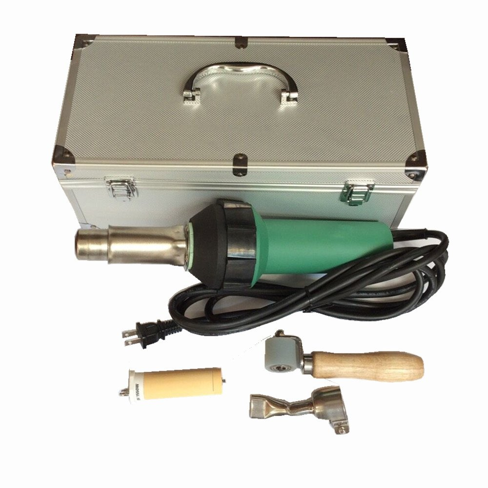 Bhoss 1600w 120v Hot Air Plastic Welding Gun Heat Gun Hot Air Gun Pvc Welder Plastic Welding for Pvc,pp,pe ,Pvdf