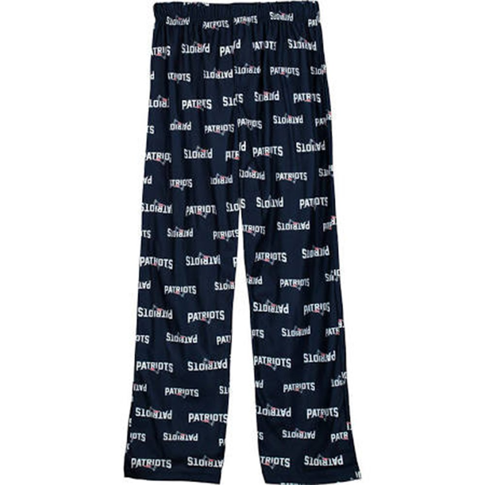 New England Patriots NFL Blue All Over Youth Pajama Pants