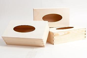 3 piezas Caja para pañuelos/Caja para pañuelos rectangular de ...