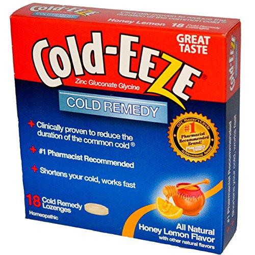 COLD-EEZE Cold Eeze Honey Lemon, 18 CT