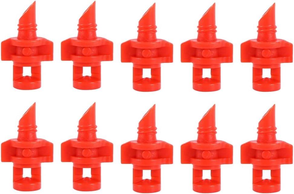 25//100X 90° 180° 360° Garden Lawn Irrigation System Micro Spray Nozzle Sprinkler
