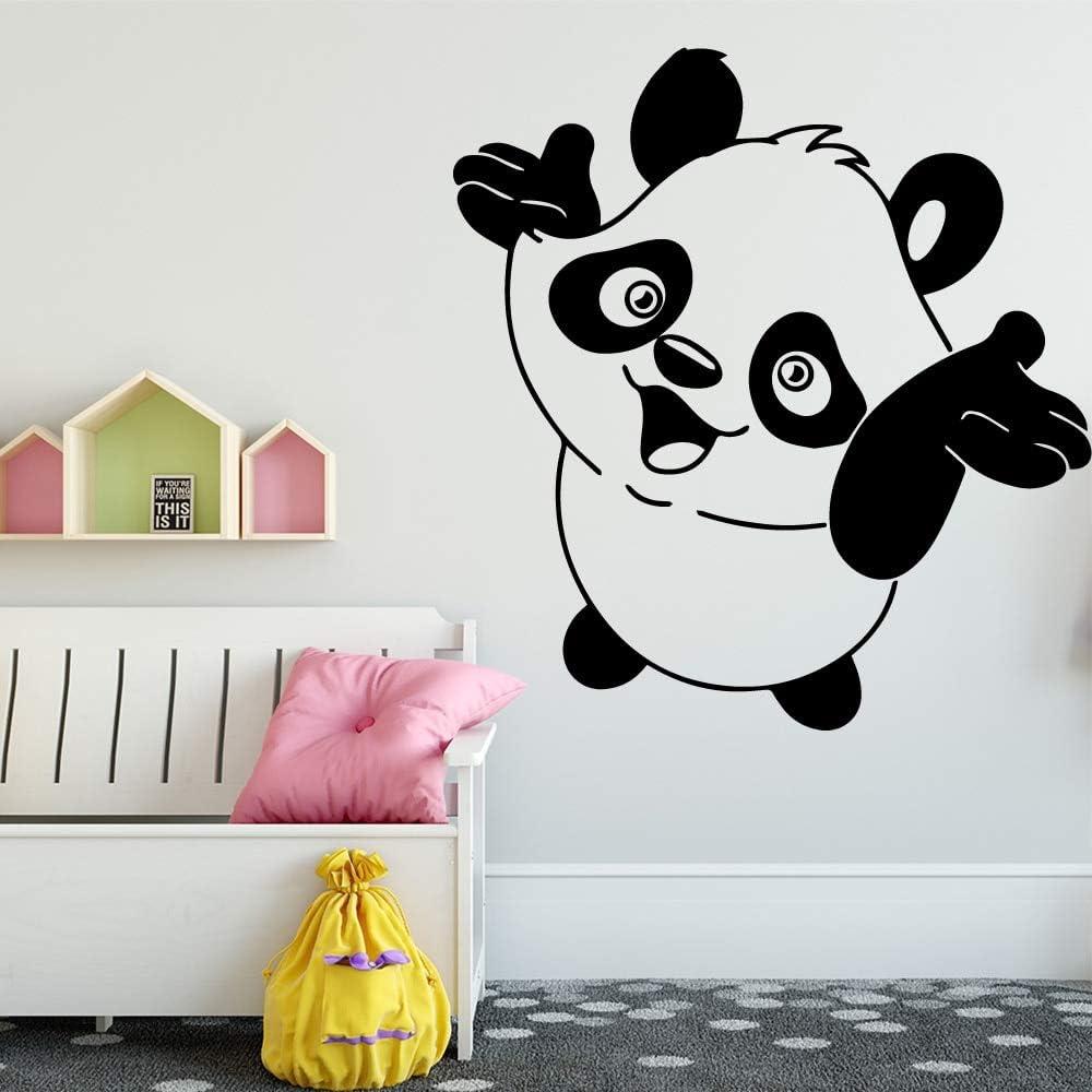 BailongXiao Lindo Panda Etiqueta de la Pared removible habitación del bebé decoración de la Pared habitación niños habitación decoración Etiqueta de la Pared Pegatina Mural 30x32cm: Amazon.es: Hogar
