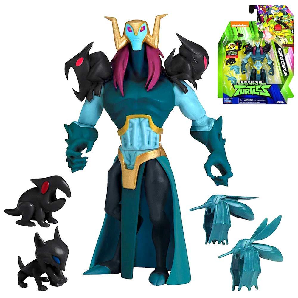 Amazon.com: Turtles Baron Draxum Maker of Mutants Action ...