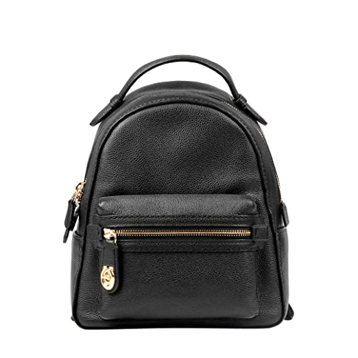 ... womens campus backpack 23 in polished pebble leather li black one size  1ddaa 30a61 where to buy nwt coach mens leather charles pack sling backpack  bag ... 66926e05bb882