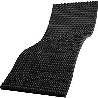 TOBEST 高反発×ドット構造 エアポイントマットレス しっかり固め 220N 通気性抜群 収納ベルト付き