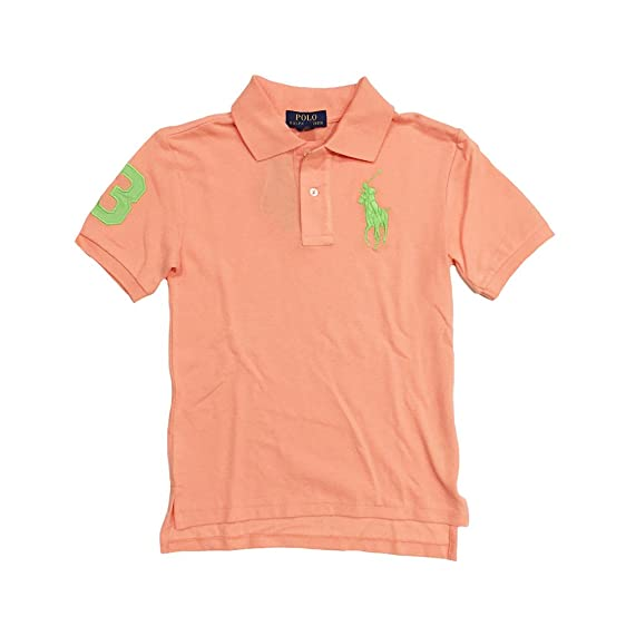 Polo Ralph Lauren Boy\u0027s Big Pony Mesh T-shirt, Small(8 yrs)
