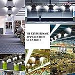 Garage Lights, LED Deformable Garage Light, Ultra-Bright Shop Lightning with 3 Adjustable Panels, Garage Ceiling Light… 12