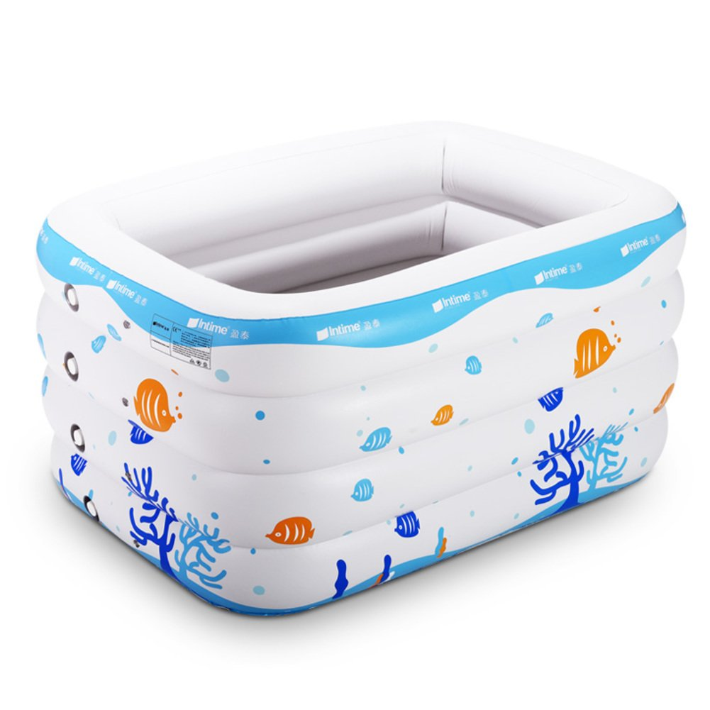 Baby Schwimmbad/Baby aufblasbare Schwimmbecken/Junge Kinder Planschbecken/Extra groß isoliert Fässer schwimmen-B