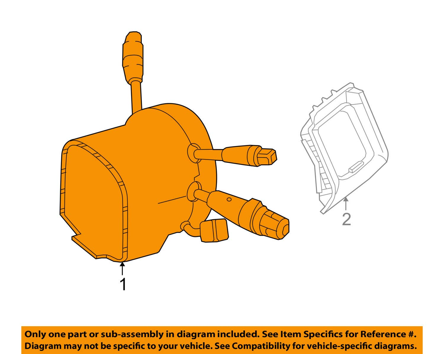Genuine Mercedes-Benz Switch Assembly 212-900-24-20-9051
