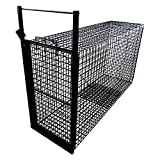 Tomahawk Live Trap Bobcat Trap with Gravity Operated Trap Door