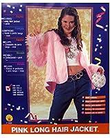 Rubies Womens 'Pink Long Hair Jacket' Halloween Costume