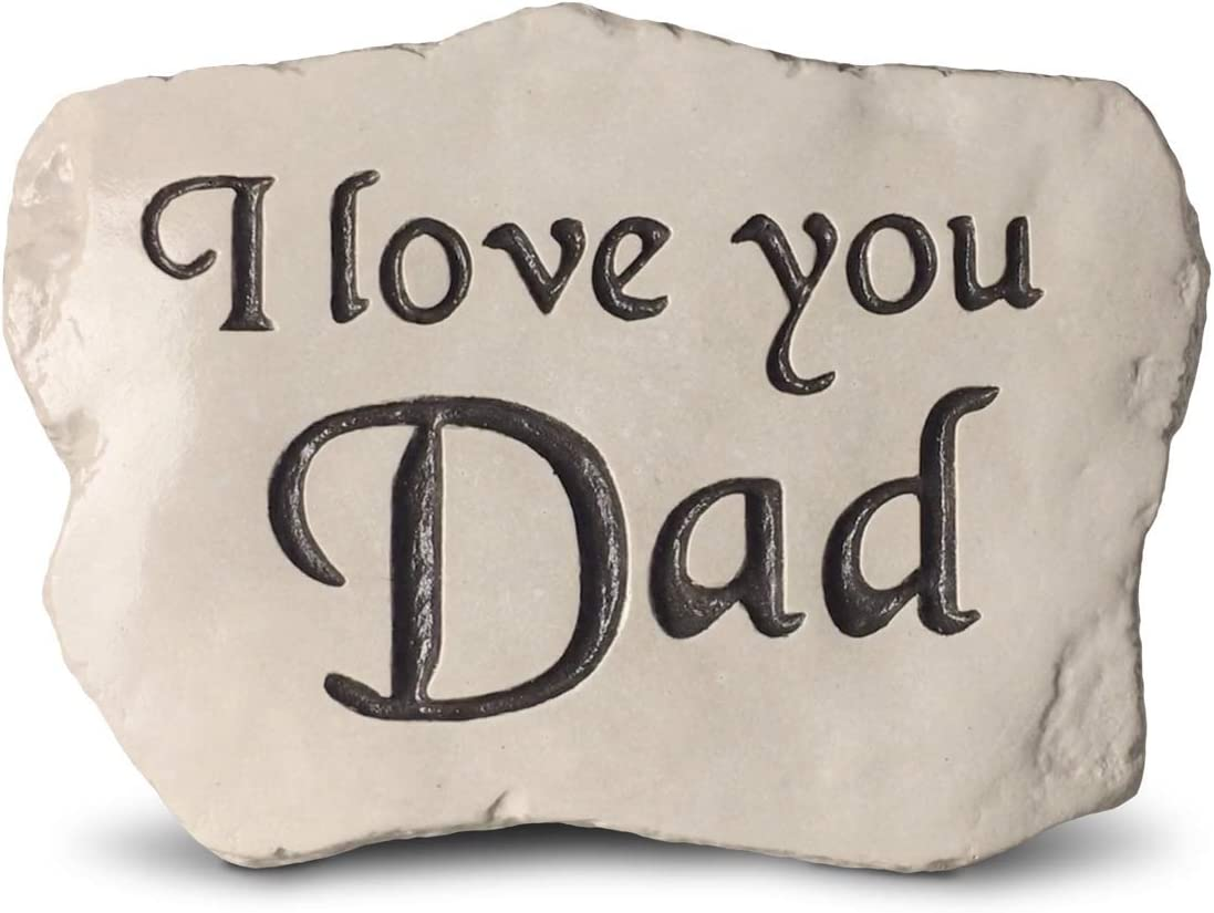 I Love You Dad - Engraved in a Heavy Little Rock