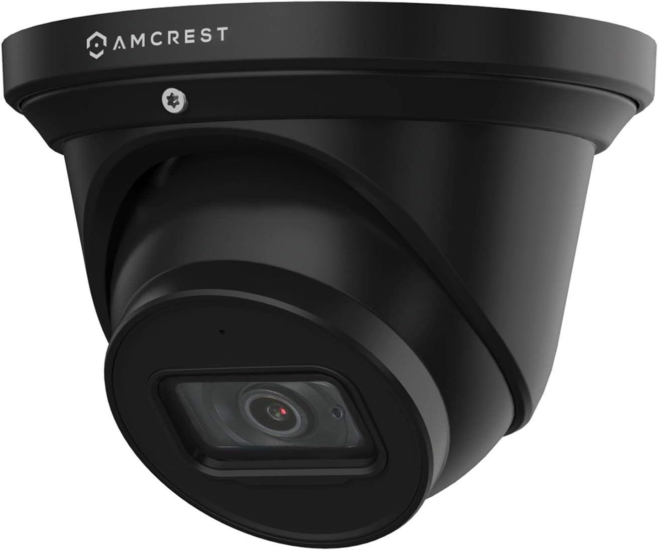 Amcrest ProHD 4K Dome Outdoor Security Camera, 4K (8-Megapixel), Analog Camera, 164ft Night Vision, IP67 Weatherproof Housing, 6mm Lens, 55° Narrow Angle, Built-in Microphone, Black (AMC4KDM6-B)