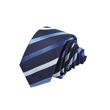 GEXING Corbatas Negocios Casual Vestido Traje Corbata Rayas ...