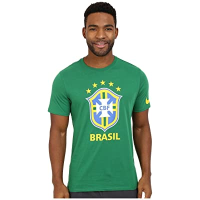 2016-2017 Brazil Nike Core Crest Tee (Green)