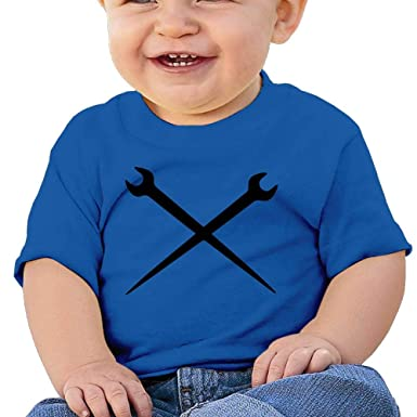 Amazon com: ANYE&&HF Ironworker Crossed Tools Baby Boys T
