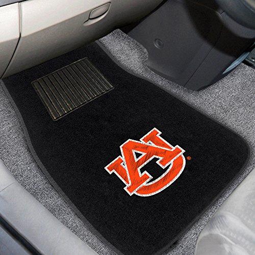 Fanmats 10352 Auburn 2-Piece Embroidered Car Mat (Auburn Accessories Car)