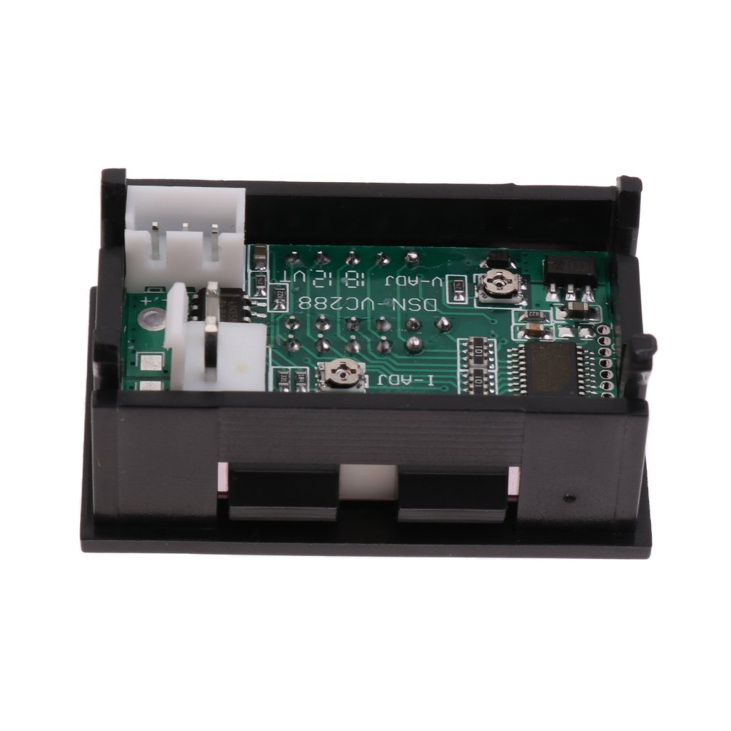 B Baosity 0.28  DC 100V 50A Voltm/ètre Amp/èrem/ètre LED Amp Voltm/ètre Courant