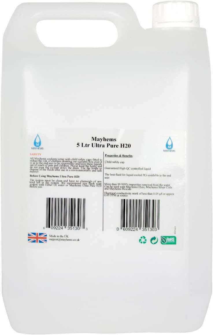 Mayhems Ultra Pure H2O Coolant Premix, 1000mL