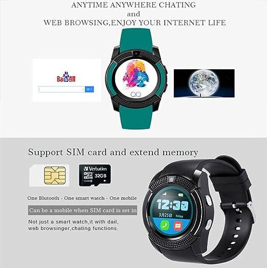 Bluetooth Smartwatch,TURNMEON® Reloj Inteligente Pulsera ...