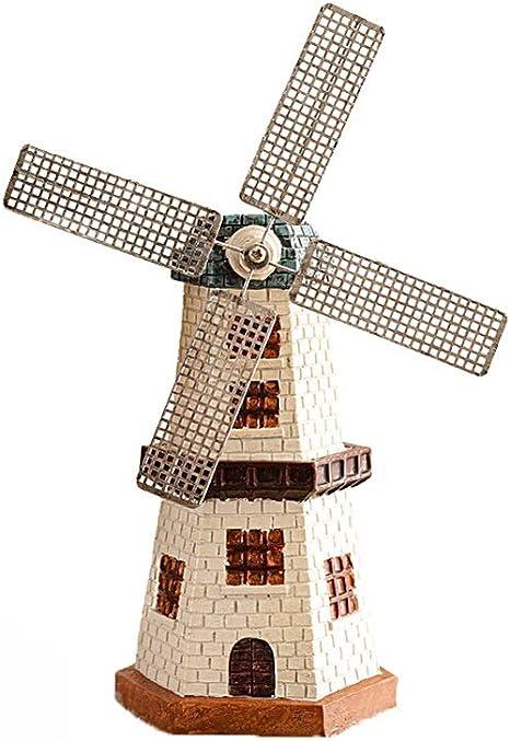 CFSJ Cerámica jardín del molino de viento Hucha Hucha Hace un perfecto y único del regalo