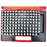 "HFS (Tm) 125 PCS M3 (0.501"" - 0.625"" ) CLASS ZZ STEEL PIN GAGE SET MINUS"