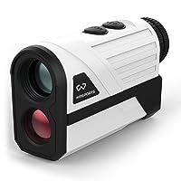 Deals on WOSPORTS Golf Rangefinder 650 Yards Laser Distance Finder