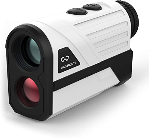 Golf Rangefinder, 650 Yards Laser Distance Finder with Slope, Flag-Lock with Vibration Distance/Speed/Angle Measurement, Upgraded Battery Cover [Wosports] Picture