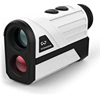 WOSPORTS Golf Rangefinder, 650 Yards Laser Distance Finder with Slope, Flag-Lock with Vibration Distance/Speed/Angle…