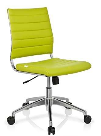 Hjh OFFICE, 720005, Luxury Executive Chair, Swivel Office Chair, TRISHA,  Green