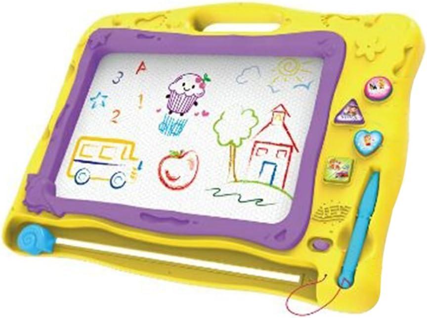 Planche /à /écrire et /à dessiner Effa/çable Doodle Peinture Foxom Tableau Magique Enfant Bleu Jouet Educatif pour vos enfants en plastique magn/étique avec 1 Stylo et Effets de Musique