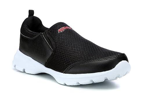 Buy Sparx Men's Black-RED Mesh Running