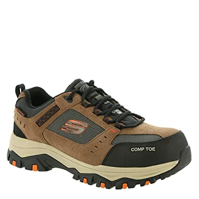 eae01e045c802 Amazon.com | Skechers Work Greetah Comp Toe Mens Sneaker Oxford ...