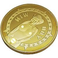Baoblaze Monnaie Commémorative Sexy Femme Pièce Jeton de Jeu Collection Cadeau Hommes - i