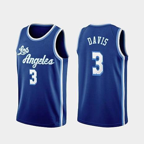 YISUDA NBA Jersey Lakers # 23 Lebron James Davis Retro Jerseys de ...