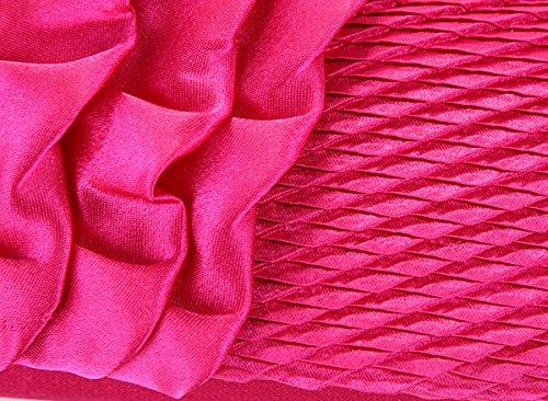WYZ Luxus Bling Damentasche Tasche Flower Clutch Handtasche Abendtasche 4 Farben Brauttasche mit Strass Kette fuer Hochzeit Party Gold I0U7z