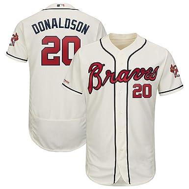 more photos b7ef3 11b9d Amazon.com: Mitchell & Ness Men's Atlanta Braves #20 Josh ...
