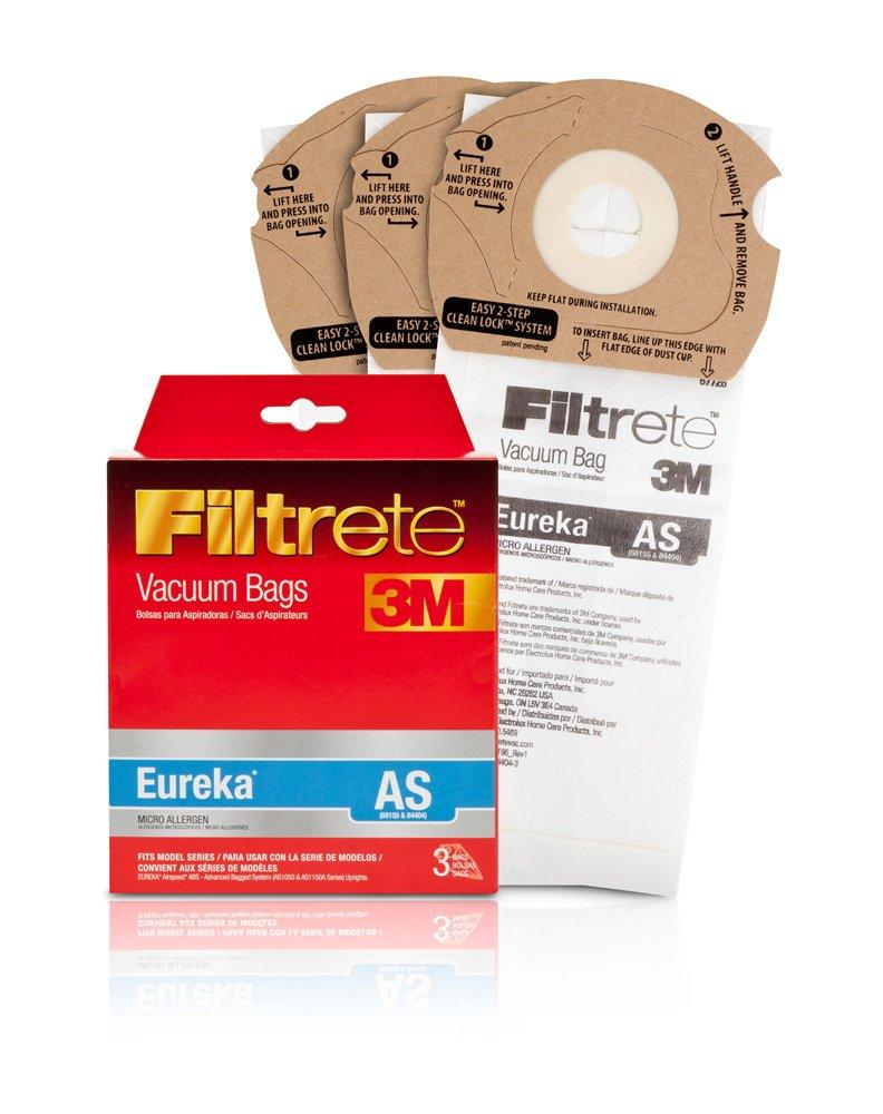 Filtrete Eureka AS Micro Allergen Vacuum Bag, 3 Pack 67726
