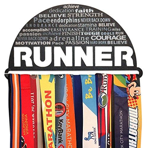 Gone For a Run | Runner's Race Medal Hanger | Inspiration