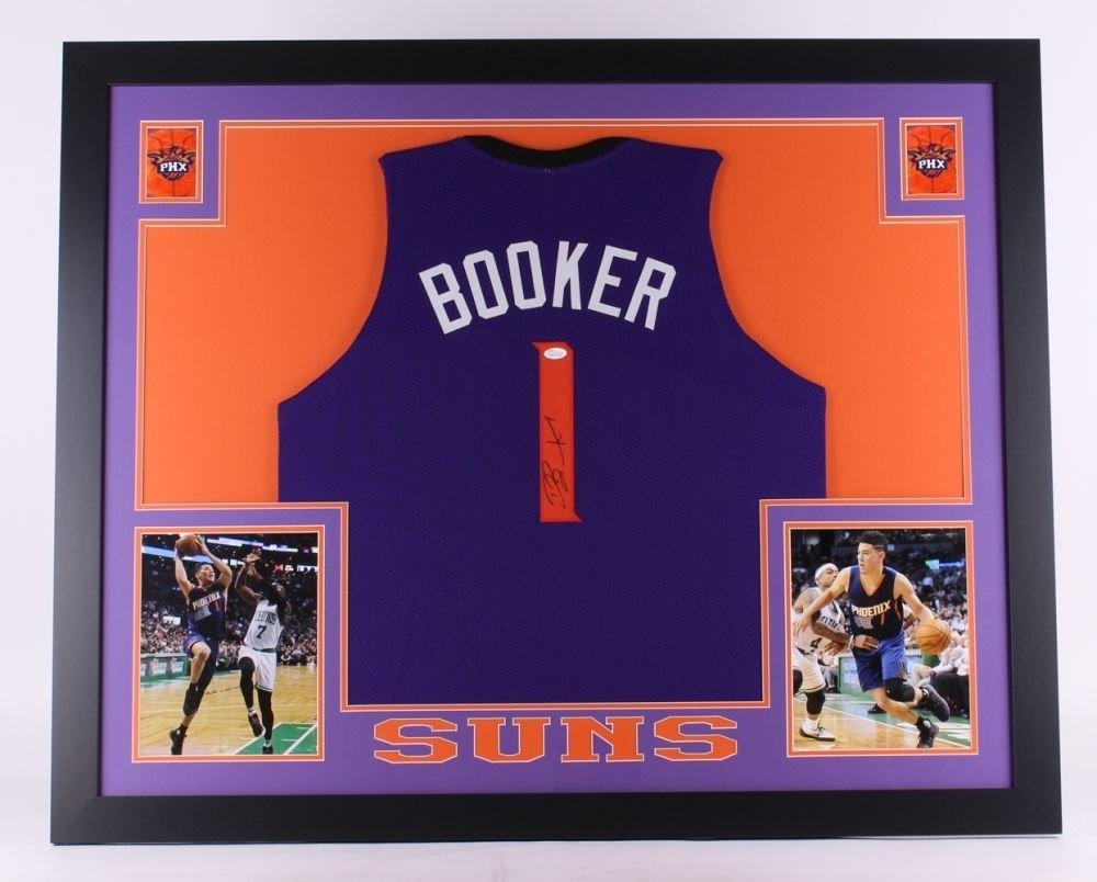 Devin Booker Signed Suns 35