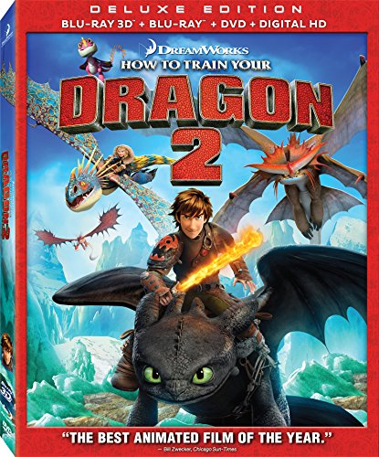 How to Train Your Dragon 2 Blu-ray 3d