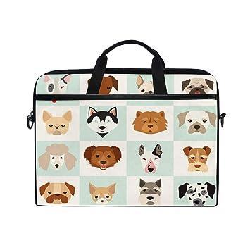 0d0a327fdc7c WowPrint Laptop Sleeve, Cute Dog Puppy Pattern Laptop Case Shoulder ...