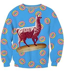 RageOn FreshlyBaked I Heart Weed Crewneck Premium All Over Print Sweatshirt