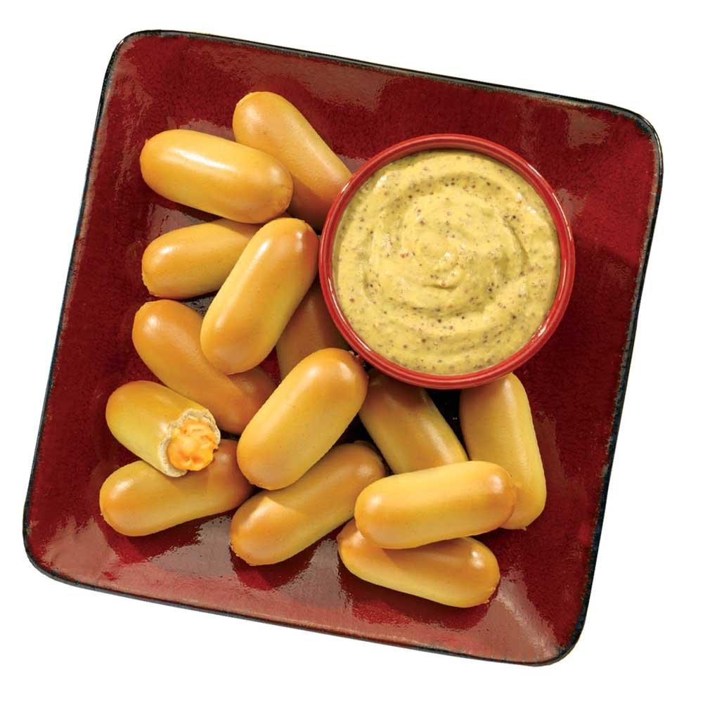 J and J Snack Super SoftStick Cheddar Cheese Filled Soft Pretzel, 26 gram -- 200 per case. by J and J Snack Foods (Image #2)