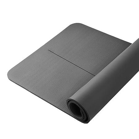 LQBDJYJD - Colchoneta de Yoga, Color Negro: Amazon.es: Hogar